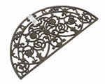 Cast Iron Door Mat (Half Moon)