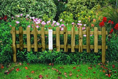 York Garden Centre No Retail Outlet Picket Fence Lawn Edging