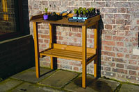 Wooden Potting Up Bench