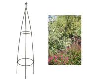 Steel Garden Obelisks. Howard Obelisk Twin Pack   OB005