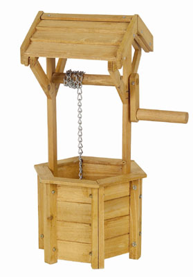 Wishing Well Garden Planter (Small)
