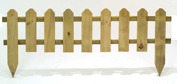York Garden Centre No Retail Outlet Wooden Picket Fence